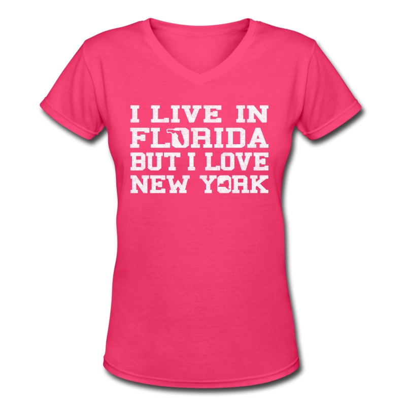 Live Florida Love Newyork Clothing Apparel Shirt T Shirt Spreadshirt