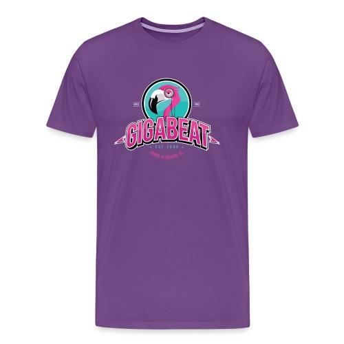 Mens PURPLE GIGA T - Men's Premium T-Shirt
