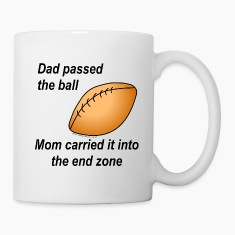 Dad Passed The Ball Bottles & Mugs