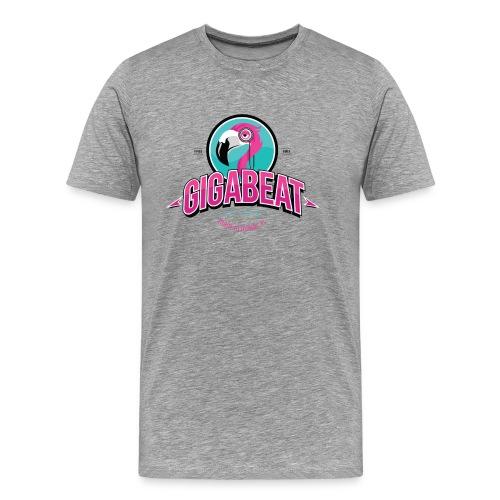 Mens Grey GIGA T - Men's Premium T-Shirt