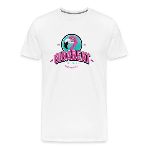Mens White GIGA T - Men's Premium T-Shirt