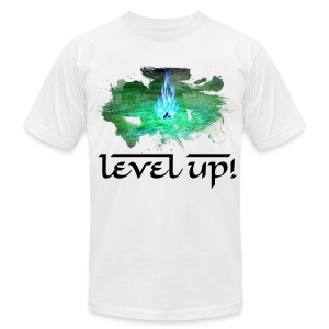 Level Up! - Men's T-Shirt by American Apparel