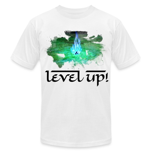 Level Up! - Men's Fine Jersey T-Shirt