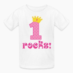 1st Birthday Princess Kids' Shirts