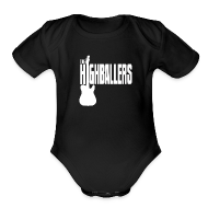 Baby Bodysuits ~ Baby Short Sleeve One Piece ~ Highballers Classic Cool Black Men's T-Shirt