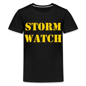 STORM WATCH TEE KIDS - Kids' Premium T-Shirt