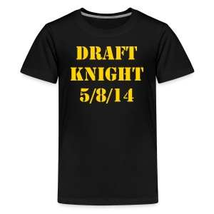 BORTLES DRAFT KNIGHT TEE KIDS - Kids' Premium T-Shirt