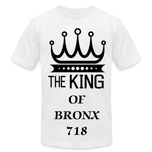 KING OF BRONX - Men's Fine Jersey T-Shirt
