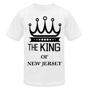 KING OF NJ - Men's Fine Jersey T-Shirt