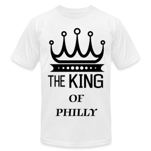 KING OF PHILLY - Men's Fine Jersey T-Shirt