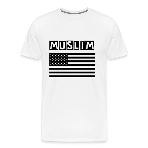 Muslim American (Short Sleeve) Male - Men's Premium T-Shirt