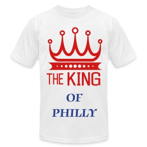 THE KING OF PHILLY - Men's Fine Jersey T-Shirt