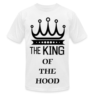 KING OF THE HOOD - Men's Fine Jersey T-Shirt