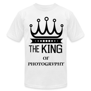 KING OF PHOTOGRAPHY - Men's Fine Jersey T-Shirt