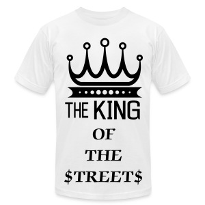KING OF THE STREETS - Men's Fine Jersey T-Shirt