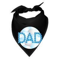 Soccer Dad Blue - Bandana