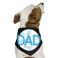 Soccer Dad Blue - Dog Bandana