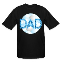 Soccer Dad Blue - Men's Tall T-Shirt