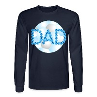 Soccer Dad Blue - Men's Long Sleeve T-Shirt