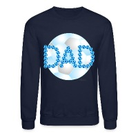 Soccer Dad Blue - Crewneck Sweatshirt