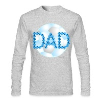Soccer Dad Blue - Men's Long Sleeve T-Shirt by Next Level