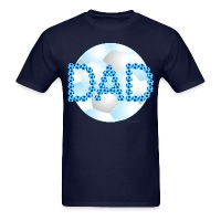Soccer Dad Blue - Men's T-Shirt