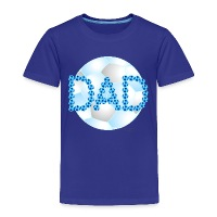 Soccer Dad Blue - Toddler Premium T-Shirt