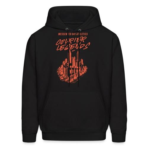 Courier Legend NYC Skyline Hoodie - Men's Hoodie