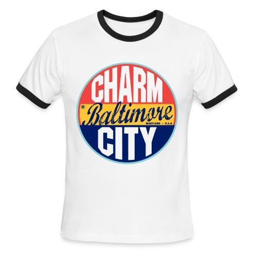 Charm City Tee - Men's Ringer T-Shirt