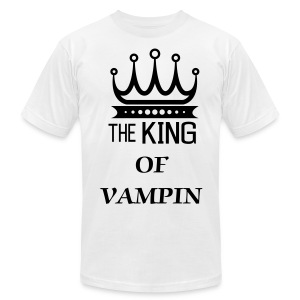 KING OF VAMPIN - Men's Fine Jersey T-Shirt