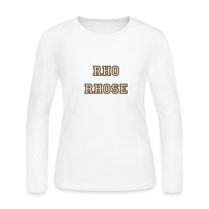 Rho Rhose LS Shirt - Women's Long Sleeve Jersey T-Shirt