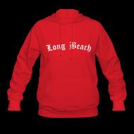 Hoodies ~ Women's Hoodie ~ Long Beach Hoodie