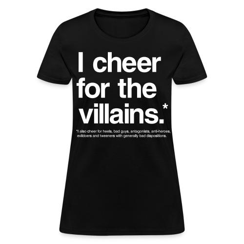 Villains (Women) - Women's T-Shirt