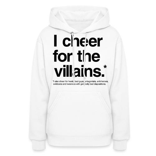 Villains (Women, Hoodie) - Women's Hoodie