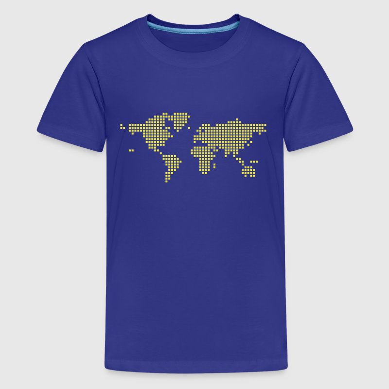 World map Kids' Shirts - Kids' Premium T-Shirt