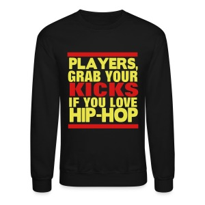Kicks 4 Hip-Hop - Crewneck Sweatshirt