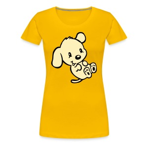 Funny Puppy - Women's Premium T-Shirt