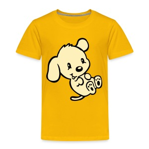 Funny Puppy - Toddler Premium T-Shirt