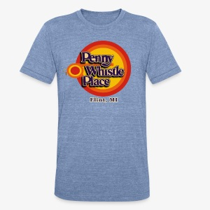 Penny Whistle Place - Unisex Tri-Blend T-Shirt by American Apparel