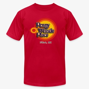 Penny Whistle Place - Men's T-Shirt by American Apparel