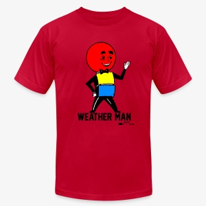 Mr. Weather Ball - Men's T-Shirt by American Apparel