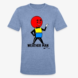 Mr. Weather Ball - Unisex Tri-Blend T-Shirt by American Apparel