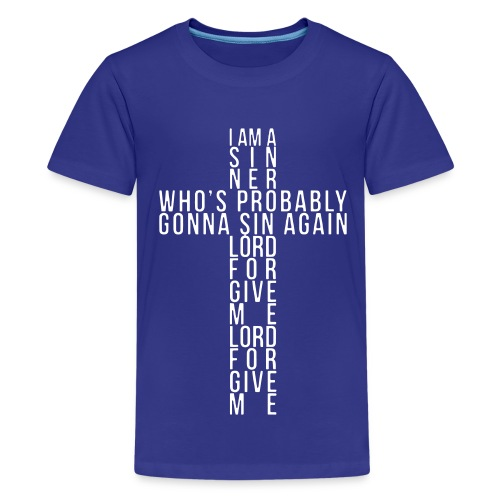 I AM A SINNER. - Kids' Premium T-Shirt