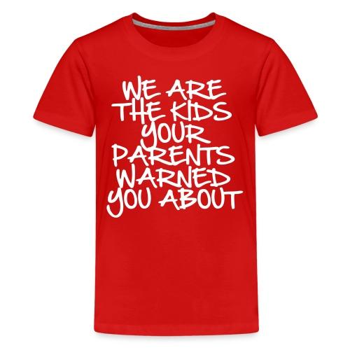 REBELS. - Kids' Premium T-Shirt