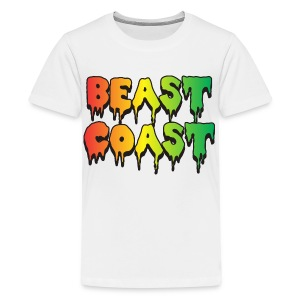 BEAST COAST. - Kids' Premium T-Shirt