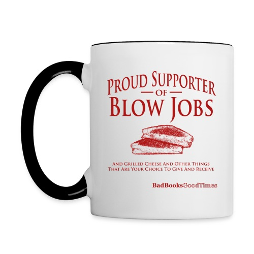 Proud Supporter - DX mug - Contrast Coffee Mug