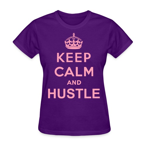 Womens KC & Hustle - Women's T-Shirt