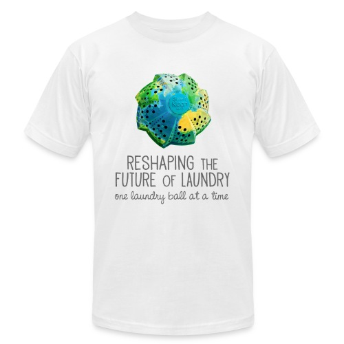Men's Reshaping the Future 1 Laundry Ball at a Time / White - Men's Fine Jersey T-Shirt