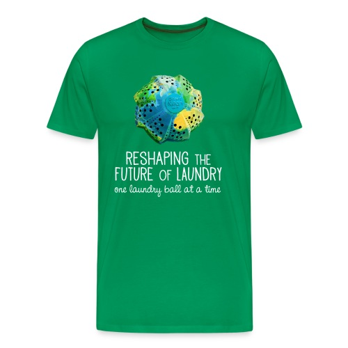 Men's Reshaping the Future 1 Laundry Ball at a Time / Green - Men's Premium T-Shirt