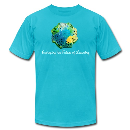 Reshaping The Future - Mens Teal - Men's Fine Jersey T-Shirt